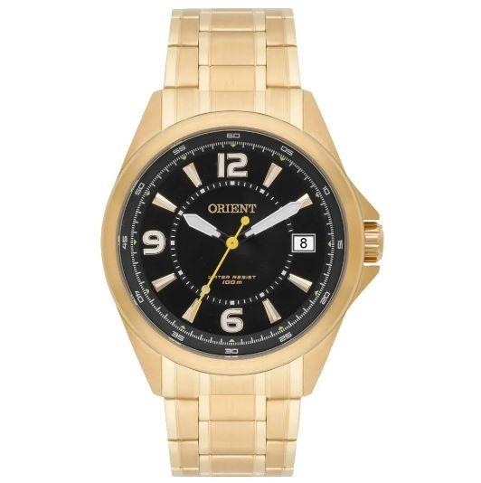 Relógio Masculino Orient MGSS1106 P2KX Dourado