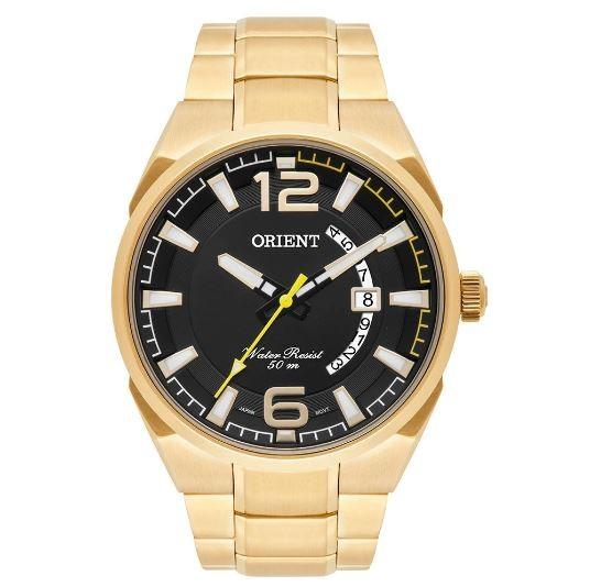 Relógio Masculino Orient MGSS1159 P2KX Dourado