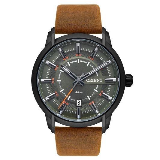 Relógio Masculino Orient MPSC1006 E1MX Marrom