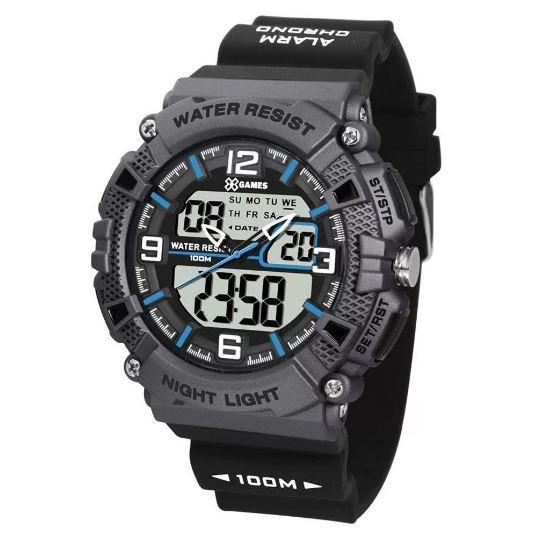 Relógio Masculino X Games XMPPA252 BXPX Preto/Cinza