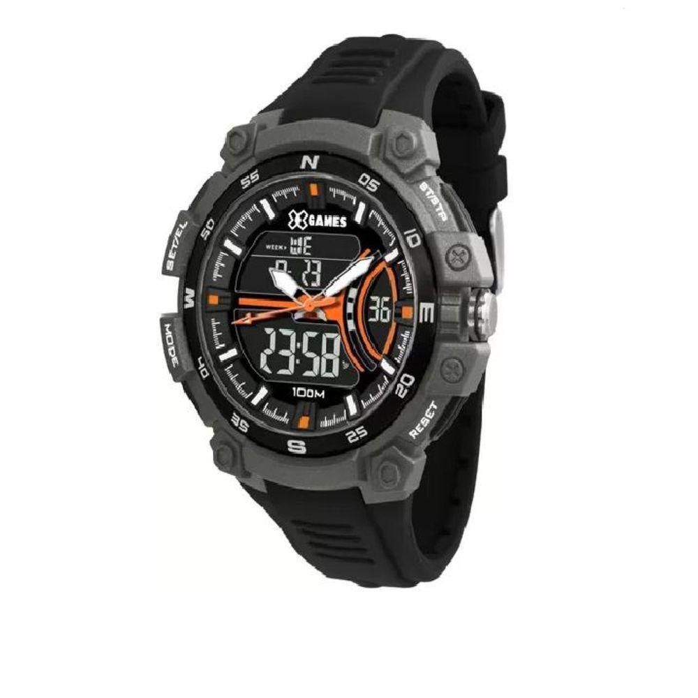 Relógio Masculino  X Games XMPPA256 PXPX Preto