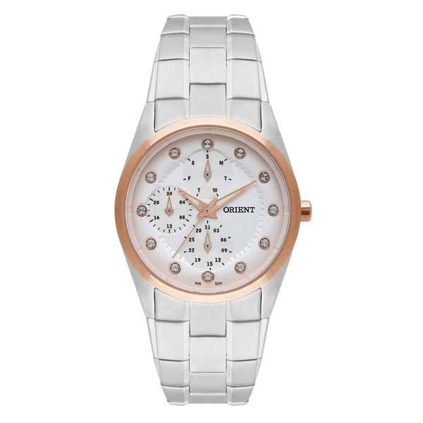 Relógio Orient Feminino Analógico com Pedras Brihantes - FTSSM036 S1SX