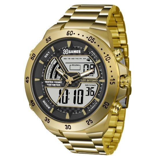 Relógio X Games Masculino XMGSA004 BXKX Dourado