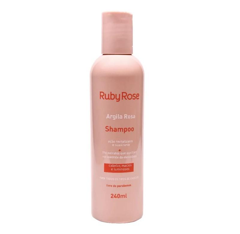 Shampoo Argila Rosa Ruby Rose 240ml