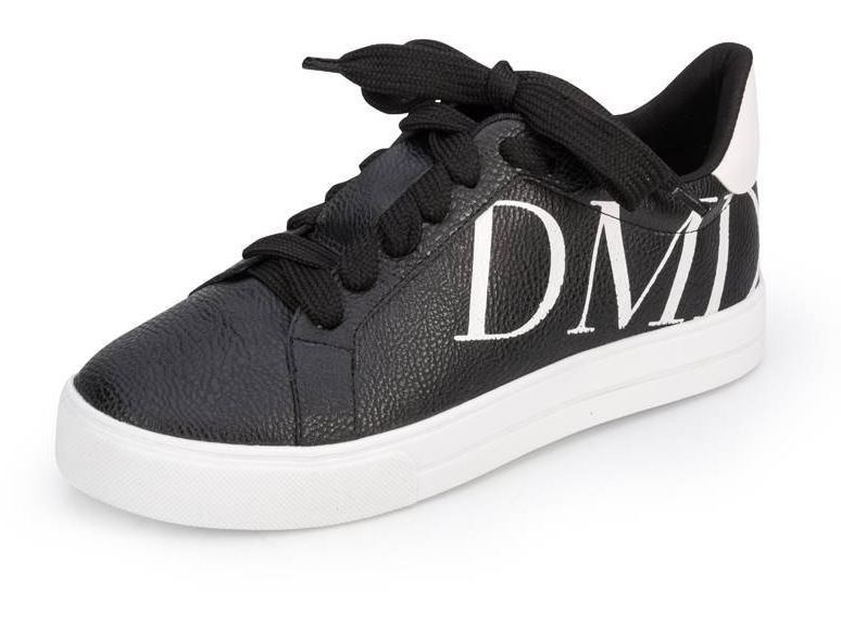 Tênis Dumond Logo DMD Liso Preto