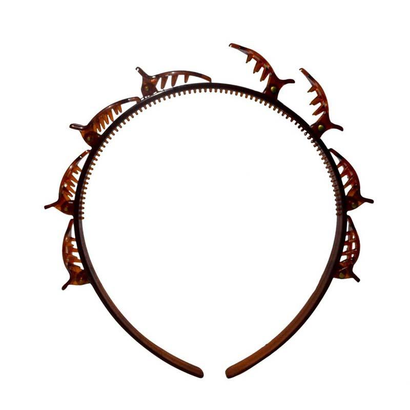 Tiara de Cabelo com Presilhas Hair Twister