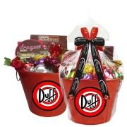 Balde de Gelo Duff com Chocolates Borússia Chocolates