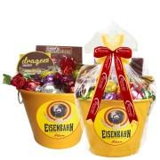 Balde de Gelo Eisenbahn com Chocolates Borússia Chocolates