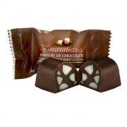 Bombom com Macadâmia sem Açúcar / sem Lactose com 35 Unds Borússia Chocolates