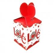 Caixinha do Amor com Chocolates Variados Borússia Chocolates