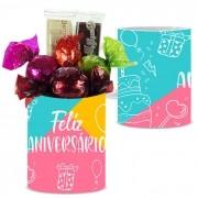 Caneca de Aniversário com Chocolates Tipo 10 Borússia Chocolates