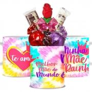 Caneca Dia das Mães com Chocolates Modelo 4 Borússia Chocolates