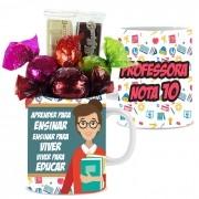 Caneca Dia dos Professores com Chocolates Modelo 3 Borússia Chocolates