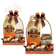 Cesta de Páscoa Crocante Borússia Decorada Chocolates