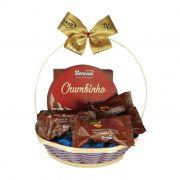 Cestinha de Chocolate Zero Açúcar / Zero Lactose Borússia Chocolates