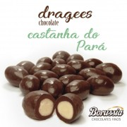 Confeito Castanha do Pará Borússia Chocolates