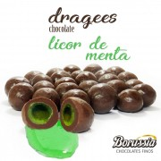 Confeito Licor de Menta Borússia Chocolates