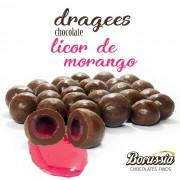 Confeito Licor de Morango Borússia Chocolates