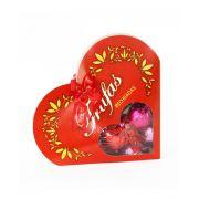 Coração Caixa com Trufas 200g Borússia Chocolates