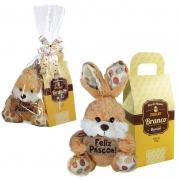 Kit Feliz Páscoa com Chocolate Branco Borússia Chocolates