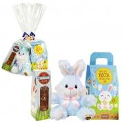 Kit de Páscoa Infantil Azul Borússia Chocolates