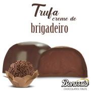 Trufa de Chocolate com Recheio de Brigadeiro Borússia Chocolates