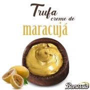 Trufa de Chocolate com Recheio de Maracujá Borússia Chocolates