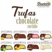 Trufa de Chocolate com Recheio Sortido Borússia Chocolates