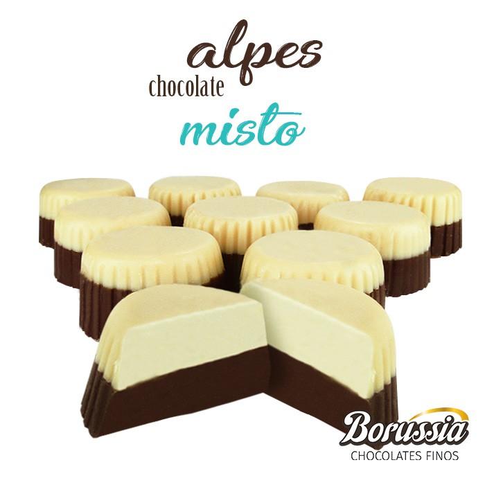 Alpes Chocolate Misto Borússia Chocolates