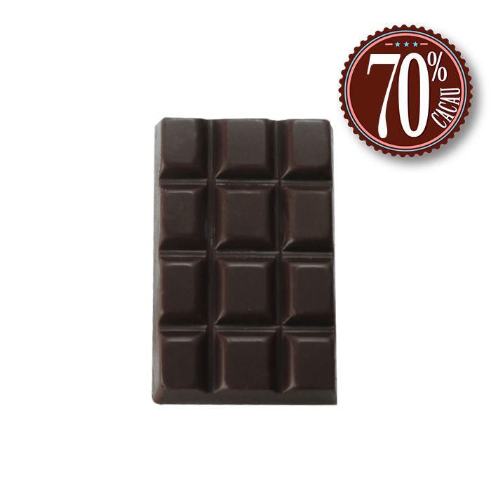 Barrinha 70% Cacau com 20 unidades Borússia Chocolates