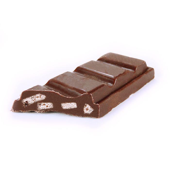 Barrinha Bisk'otco Chocolate ao Leite com 20 unidades Borússia Chocolates