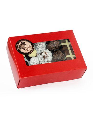 Bombom Fino Sortido Borússia Chocolates