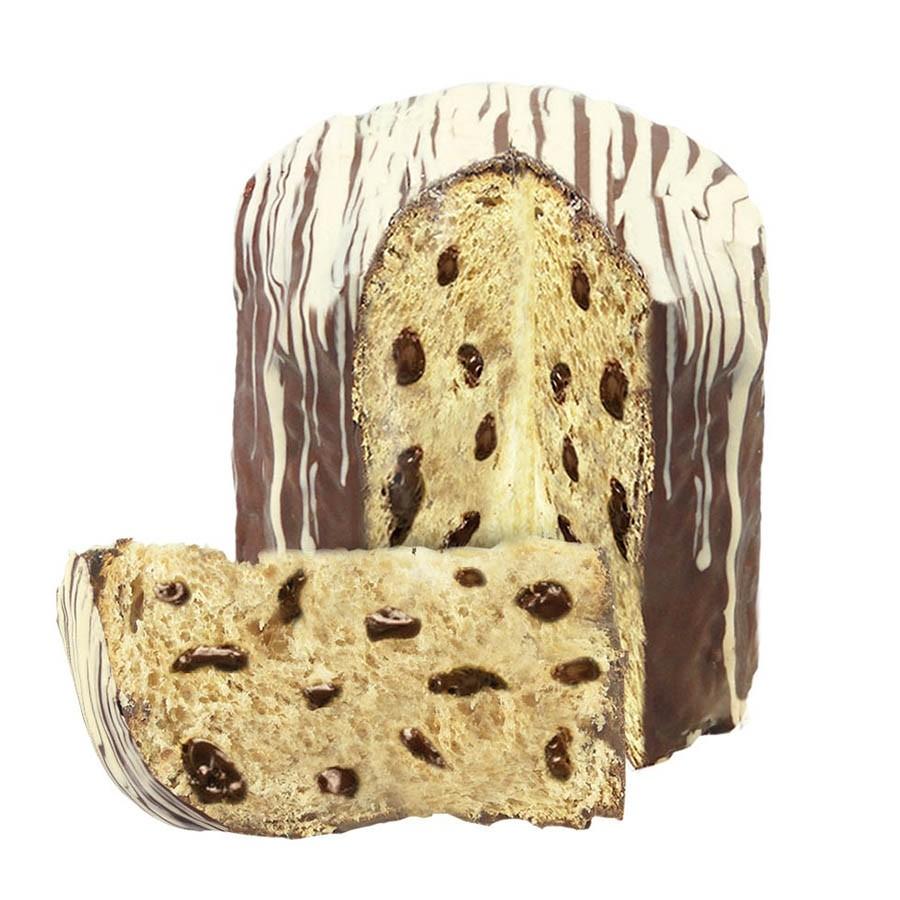 Chocotone Coberto com Chocolate ao Leite 630g Borússia Chocolates