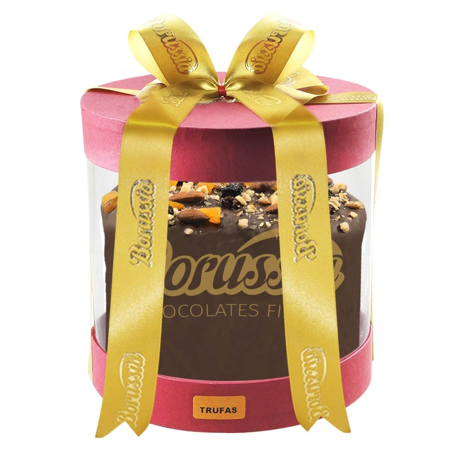 Chocotone Trufado com Creme de Trufas com 900g Borússia Chocolates
