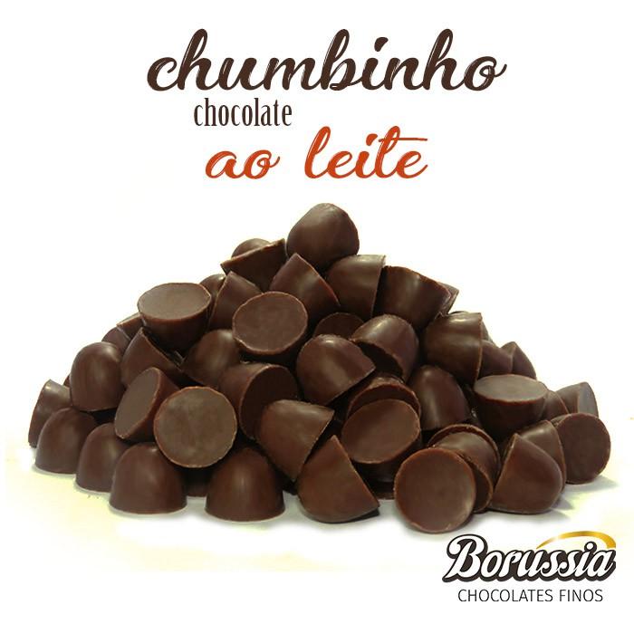 Chumbinho Chocolate ao Leite Borússia Chocolates