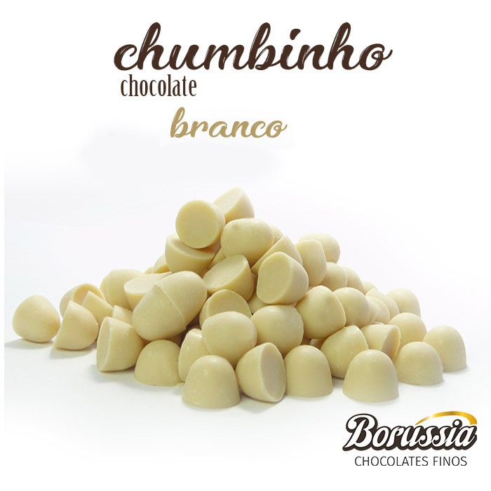 Chumbinho Chocolate Branco Borússia Chocolates