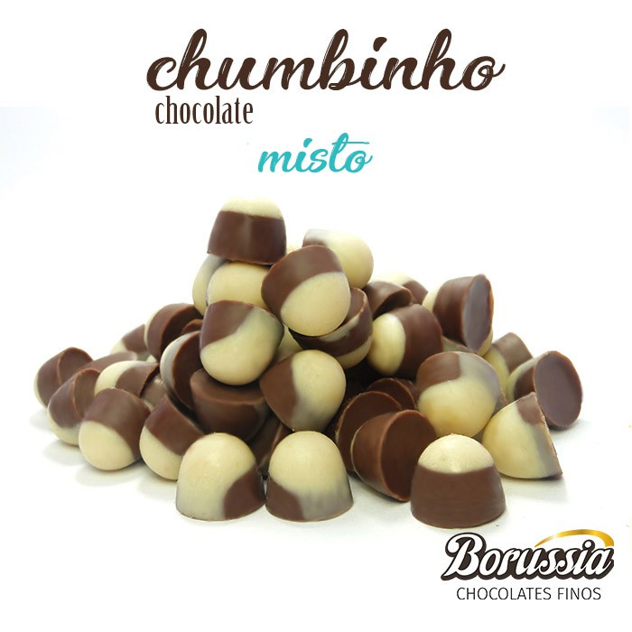 Chumbinho Chocolate Misto Borússia Chocolates