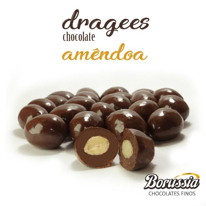 Confeito de Amêndoa Borússia Chocolates