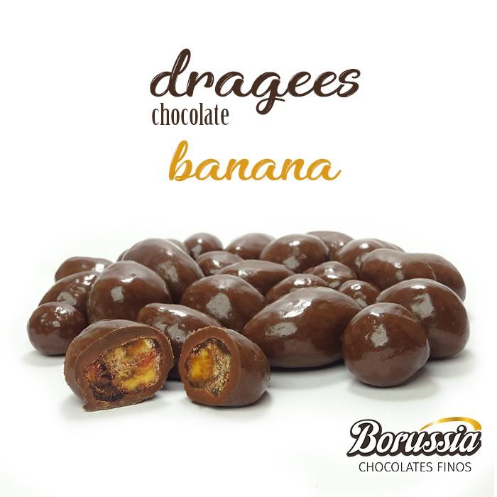 Confeito de Banana Borússia Chocolates