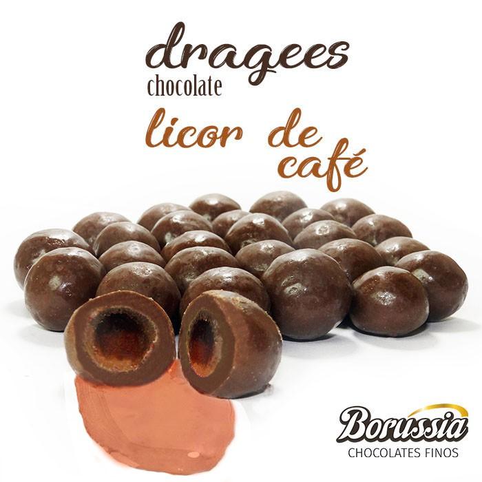 Confeito de Licor de Café Borússia Chocolates