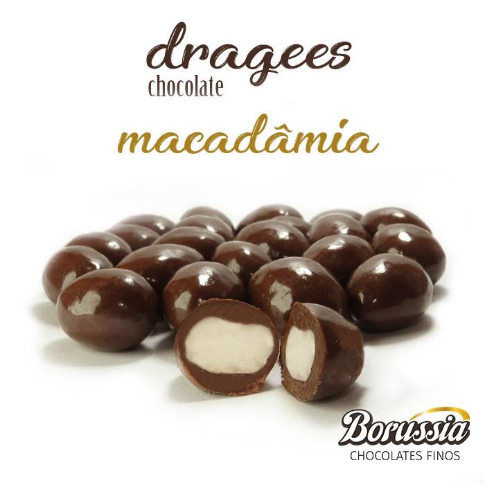 Confeito de Macadâmia Borússia Chocolates