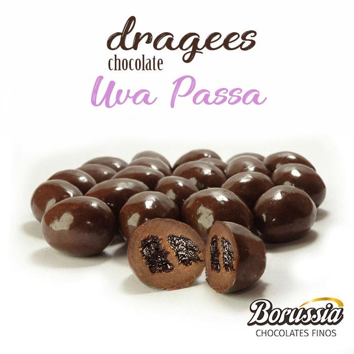 Confeito de Uva Passa Borússia Chocolates