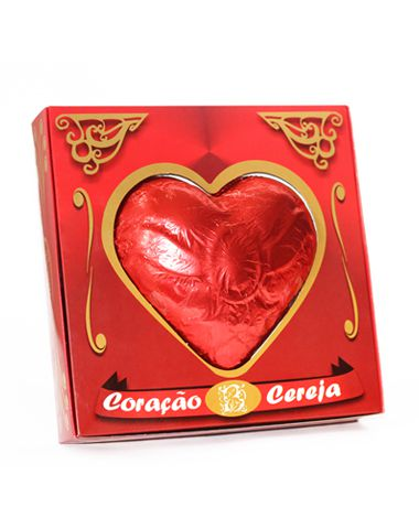 Coração Caixa Vazada Grande 320g Borússia Chocolates