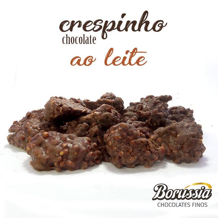 Crespinho Chocolate ao Leite Borússia Chocolates
