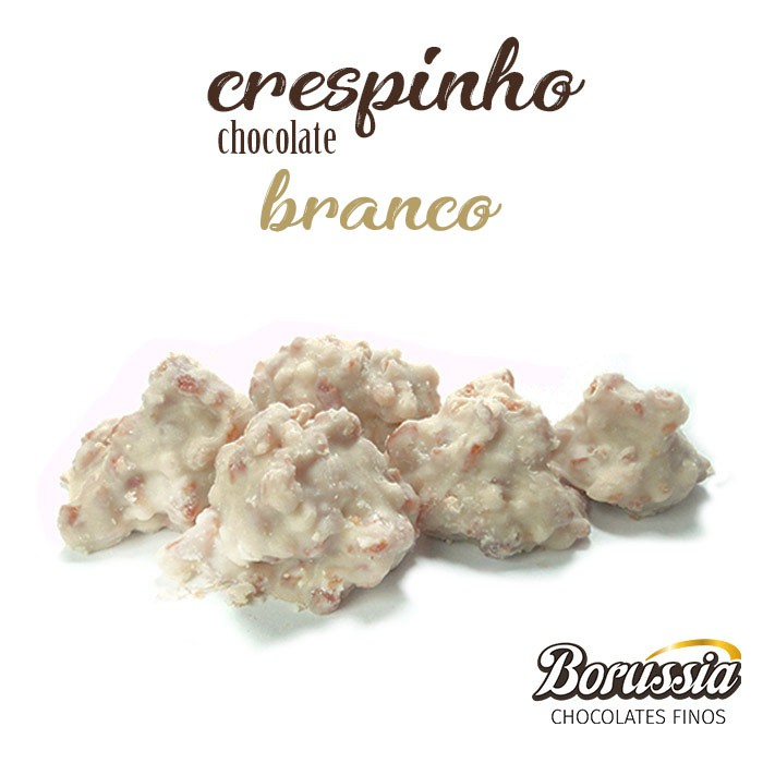 Crespinho Chocolate Branco Borússia Chocolates