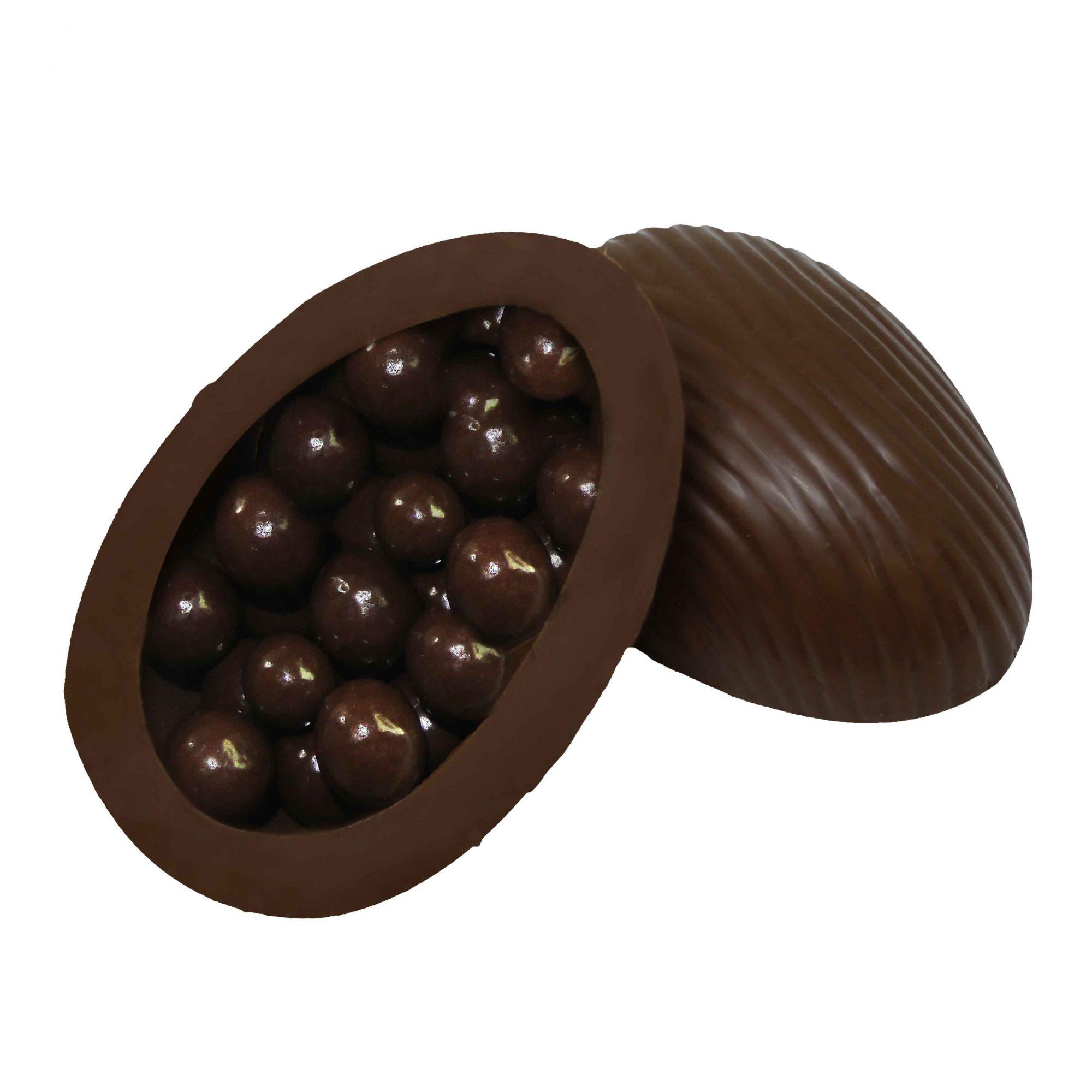 Ovo de Páscoa Chocolate ao Leite 120gr / Caixa c/ 12 Unds Borússia Chocolates