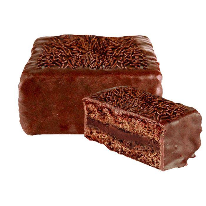 Pão de Mel Recheado com Brigadeiro  (12 Uni.) Borússia Chocolates
