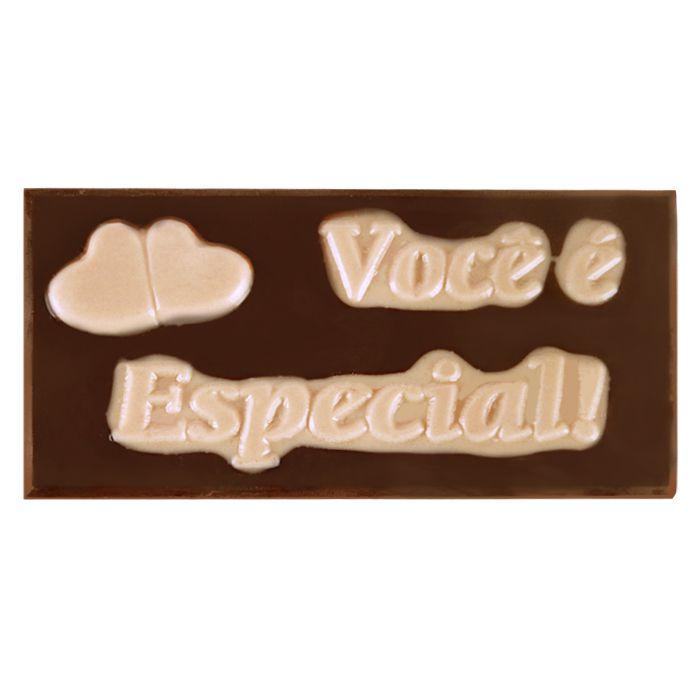 Placa Retangular você é Especial Unidade Borússia Chocolates