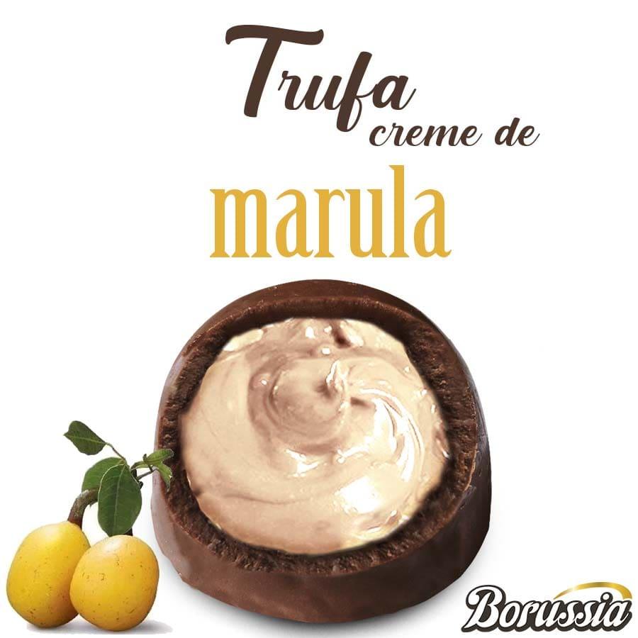 Trufa de Chocolate com Recheio de Marula Borússia Chocolates