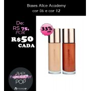 Base ALTA COBERTURA - CORES 06 ou 12- BLACK FRIDAY | ALICE ACADEMY